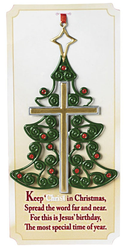 christmas-tree-cross-ornament. 95_3510x.  christmas_jesus_christmas_tree_ornaments-r898716fdd0694dcfbd2e60eabbeb51d5_x7s21_8byvr_512 - Jesus Christmas Tree Decorations Holliday Decorations